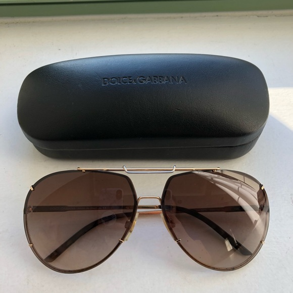 9b03cb56ff9f Dolce   Gabbana Accessories - Dolce   Gabbana DG 2075 aviator sunglasses
